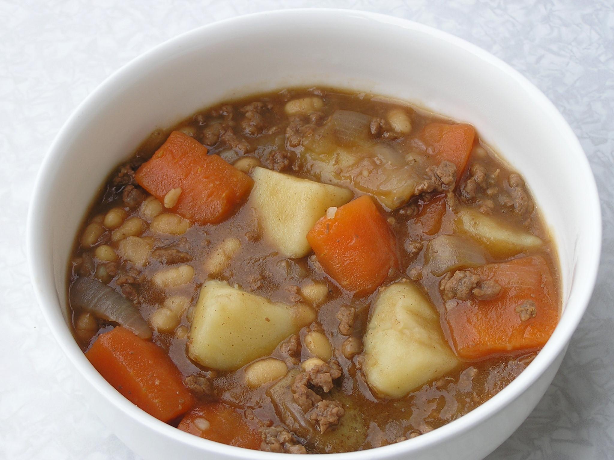 Beef and Bean Hotpot