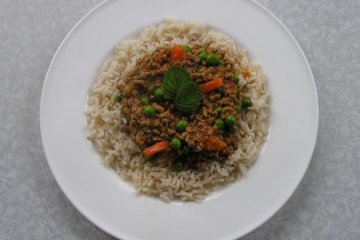 Minced Lamb and Mint